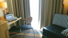 Arbeit im Hotelzimmer