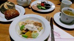 veganes Frühstück im Freizeit In